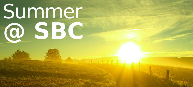 Summer at SBC