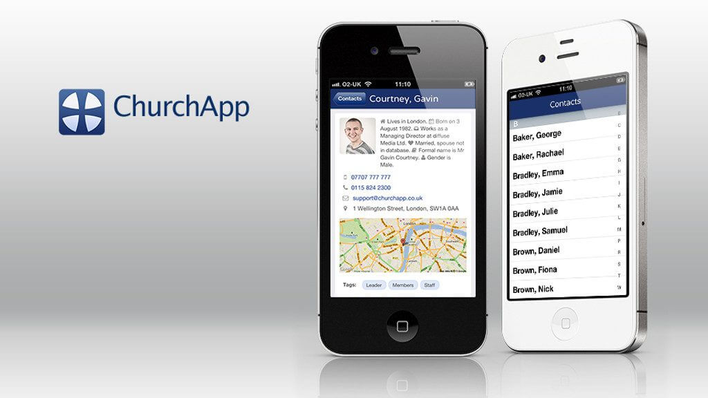 Connect with ChurchApp