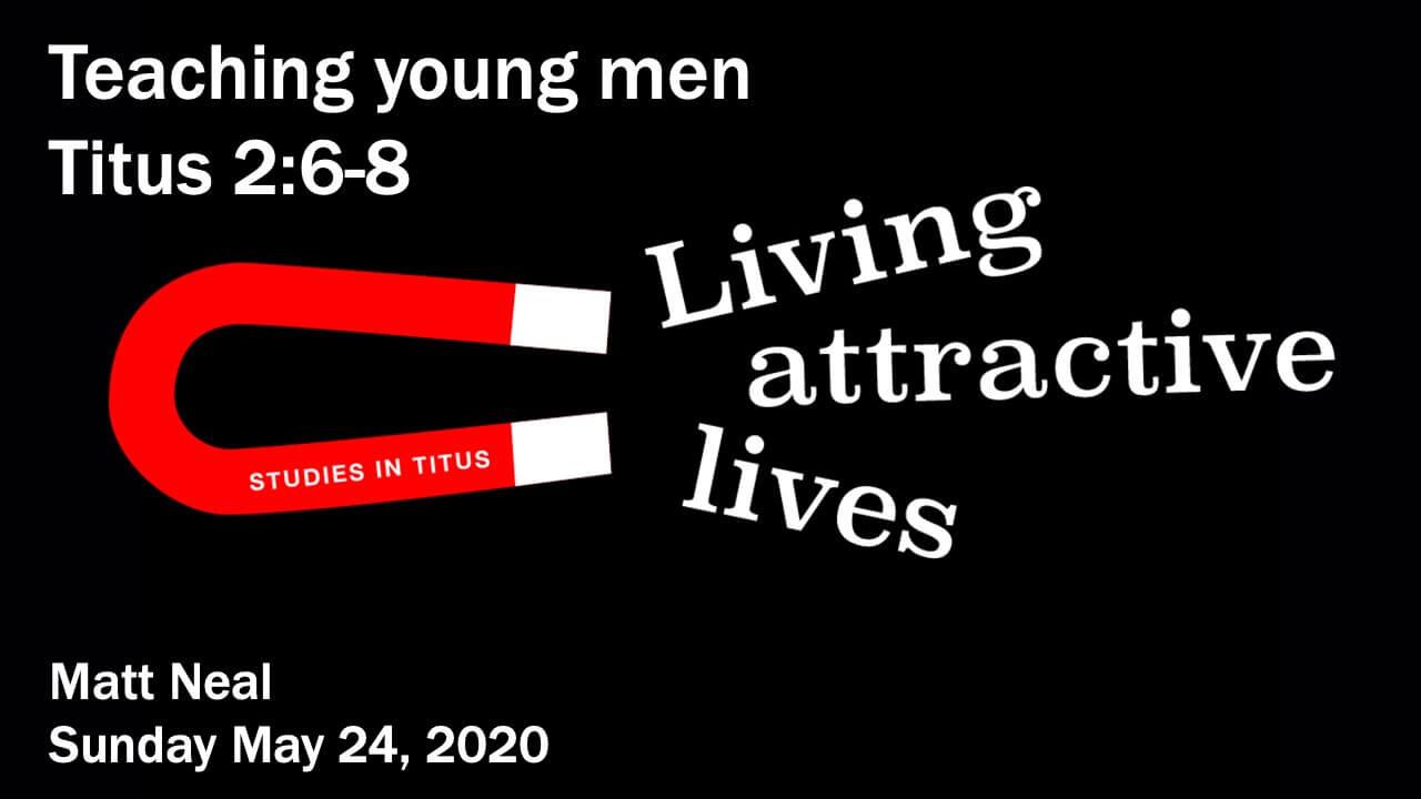 Titus - Teaching young men