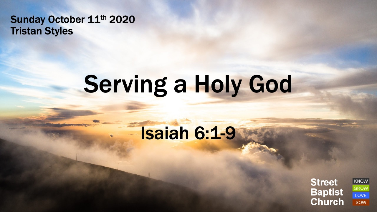 Serving a Holy God