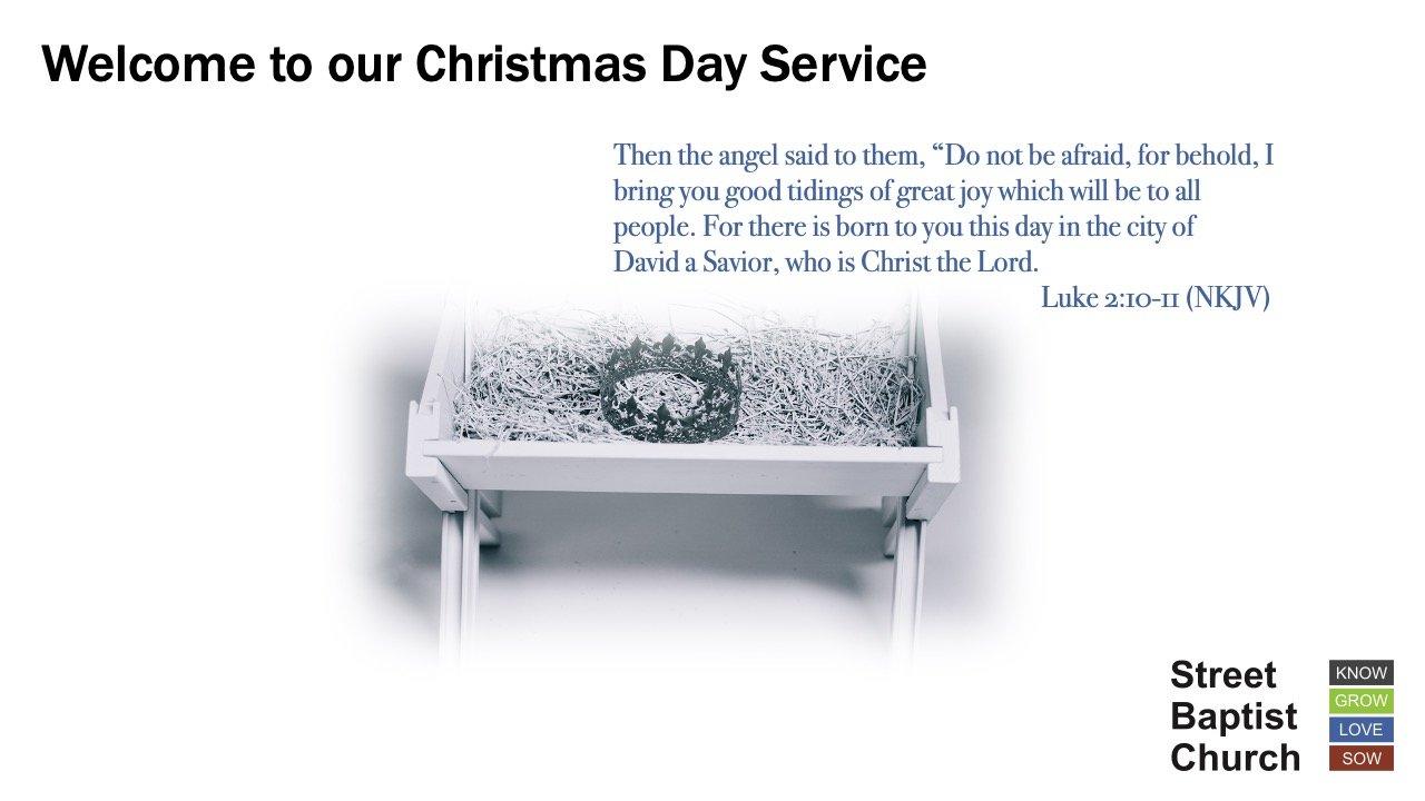 Christmas Morning Worship 2020