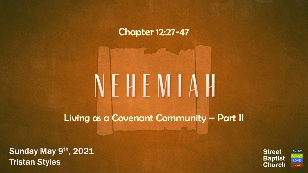 Nehemiah: Preparation, Participation, Purification, Praise, Provision